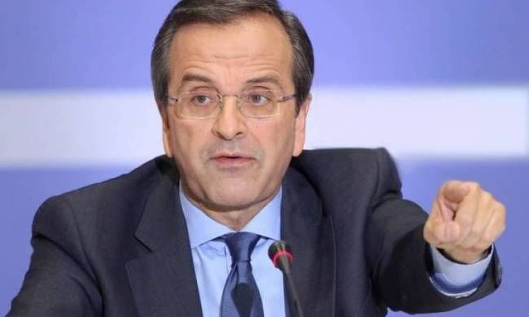 Αντώνης Σαμαράς: Με «πολιτικές χειροβομβίδες» εναντίον του ΣΥΡΙΖΑ