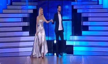 Εντυπωσιακή η Δούκισσα Νομικού στον προημιτελικό του «Dancing with the stars 4»
