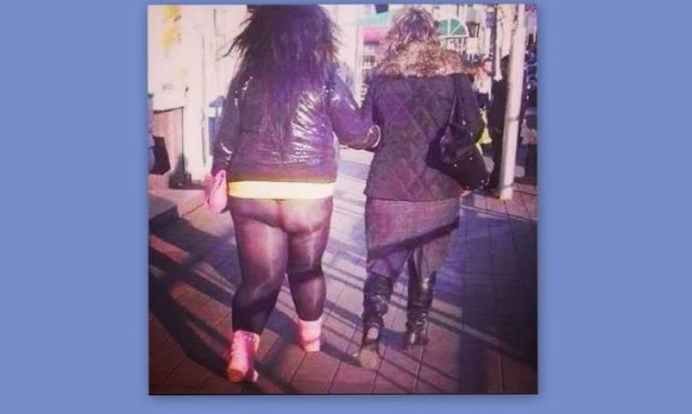 Έκλαψα: Που πας καλή μου με τα ρόζ μποτάκια την τσαντούλα και το κολάν!!!! (Nassos blog)