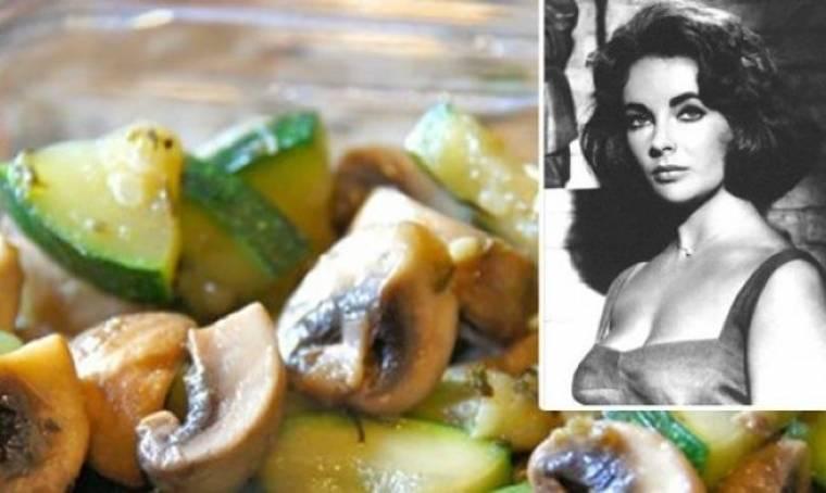 Το πιο νόστιμο κοτόπουλο με αβοκάντο και μανιτάρια από τα χεράκια της Elizabeth Taylor
