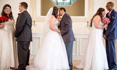Συγκλονιστική ιστορία: Παντρεύτηκαν ταυτόχρονα για να προλάβουν...