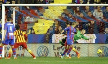 Λεβάντε: «Τρελάθηκε» ο Ισπανός με το γκολ του Βύντρα στην Μπαρτσελόνα! (audio)
