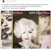 Η Λουκία Λαιμού είναι η Ελληνίδα «Marilyn Monroe»