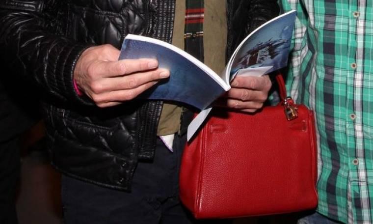 Η κόκκινη τσάντα του…