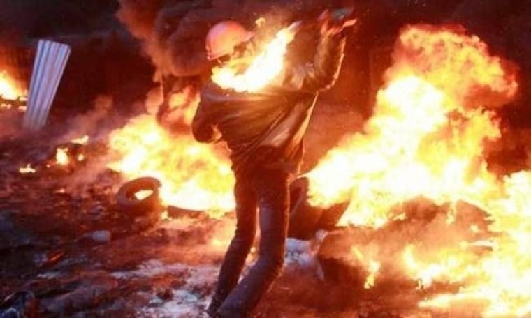 Βίντεο: «Κόλαση» το Κίεβο - Στους πέντε οι νεκροί