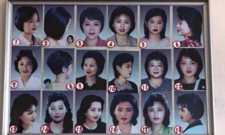Δύσκολη η δουλεία του κομμωτή και της κομμώτριας στη Βόρεια Κορέα...