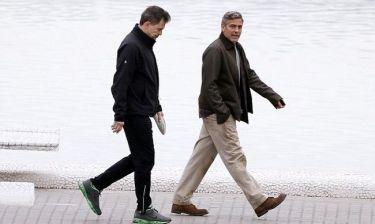 George Clooney: Χαλαρή βόλτα στη Βαλένθια!