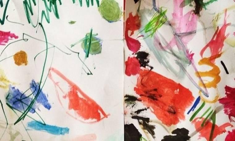 Ποιων επώνυμων το κοριτσάκι έκανε αυτές τις ζωγραφιές;