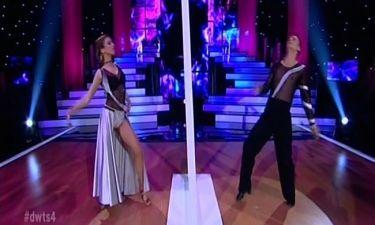 Το πάσο ντόμπλε της Κλέλιας Πανταζή στον ημιτελικό του «Dancing with the stars 4»