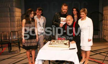 Οι συντελεστές της παράστασης «Toc-Toc» έκοψαν την πίτα τους!