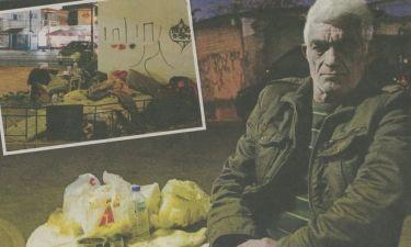 Αληθινή ιστορία: Άστεγος ο ξάδερφος του Πασχάλη Τερζή!