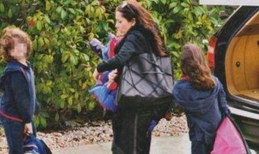 Δέσποινα Βανδή: Περιμένοντας τα παιδιά από το σχολείο!