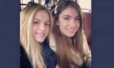Άννα Πρέλεβιτς: Στο Λονδίνο με την αδερφή της!