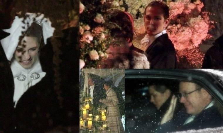 Οι πρώτες φωτογραφίες από τον πριγκιπικό γάμο του γιου της Καρολίνας του Μονακό!