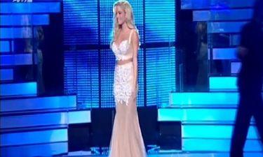 Η γκράντε εμφάνιση της Δούκισσας Νομικού στον τελικό του «Dancing with the stars 4»