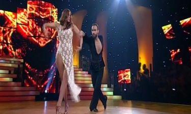 Εντυπωσίασε η Χρύσπα με τη χορογραφία της!
