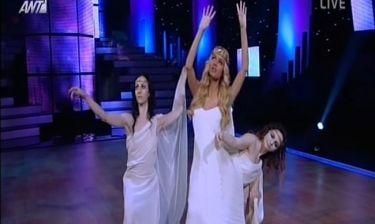 Ο «Τρωικός πόλεμος» στο πλατό του «Dancing with the stars 4»