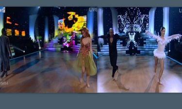 Η χορευτική μονομαχία των Κατερίνας Στικούδη και Ησαΐα Ματιάμπα στον τελικό του «Dancing with the stars 4»