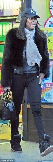 Και όμως: Είναι η Naomi Campbell σε μία κακή στιγμή της!