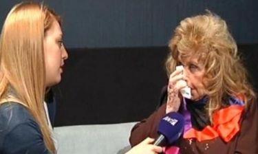 Τα δάκρυα της Στυλιανοπούλου όταν έμαθε το σχόλιο του Ορφανού για τους ηλικιωμένους ηθοποιούς