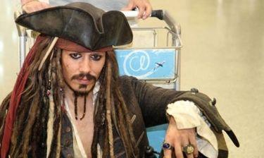 O Captain Jack Sparrow έφτασε στην Αθήνα!