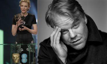 Τα δάκρυα της Cate Blanchett και η αφιέρωση στον Philip Seymour Hoffman
