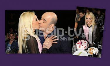 Το τρυφερό φιλί του Σεφερλή στην σύζυγό του για τα γενέθλιά της