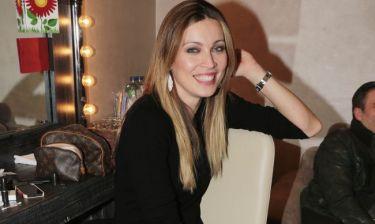 Μαριέττα Χρουσαλά: Για δείπνο σε ιταλικό εστιατόριο με τον άντρα της