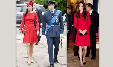 Kate Middleton: Φόρεσε το ίδιο φόρεμα δυο φορές!