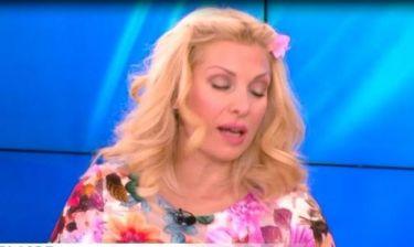 Η Ελένη Μενεγάκη ένιωσε ότι καταρρέει κατά τη διάρκεια της εκπομπής της!