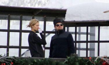Leonardo Di Caprio: Για σκι με την Garrn