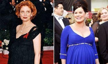Το μπλε ή το μαύρο χρώμα υπήρξε «τυχερό» για τις υποψήφιες για Oscar που ήταν έγκυες;