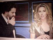 Βιγκόπουλος-Κοτοβός: Καυτά φιλιά σε έξοδό τους! (φωτό)