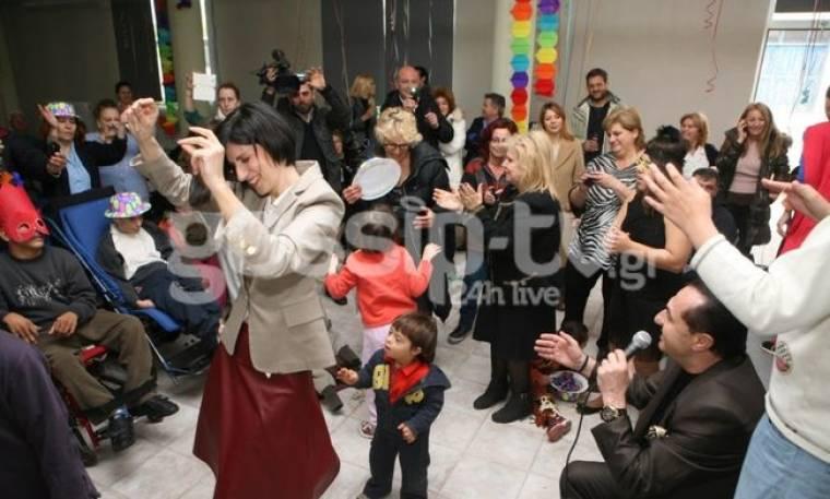 Λευτέρης Πανταζής: Σε Αποκριάτικη εκδήλωση στο πλευρό των παιδιών!