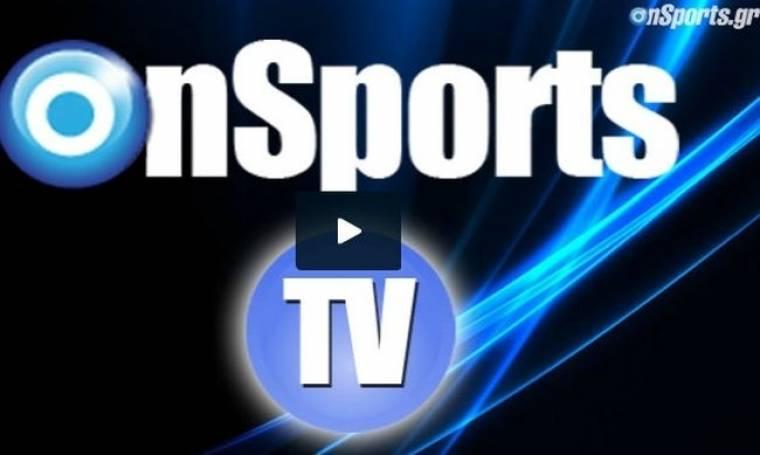 Onsports TV: Το «ερυθρόλευκο» κορεό (photos+video)
