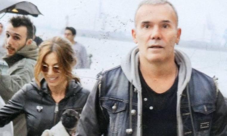 Στέλιος Ρόκκος: Με την σύντροφο και το γιο του στην Θεσσαλονίκη!