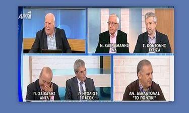 «Ξεράθηκε» στα γέλια ο Χαϊκάλης on air με το καλωσόρισμα του Άδωνι Γεωργιάδη στην Τρόικα