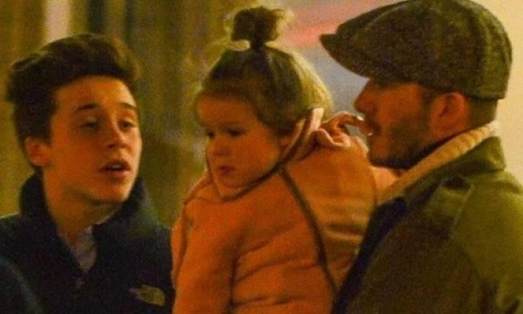 David Beckham είναι δοτικός μπαμπάς