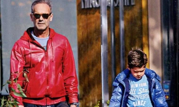 Πέτρος Κωστόπουλος: Στιγμές με τον γιο του