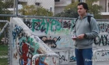 Ο Γιώργος Μητσικώστας μιμείται τον Σταύρο Θεοδωράκη και σαρώνει