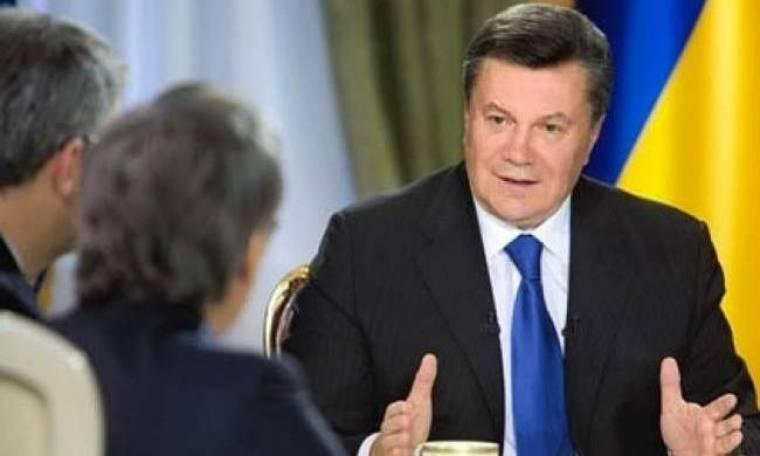 Γιανουκόβιτς: Δεν διέταξα την αστυνομία να ανοίξει πυρ