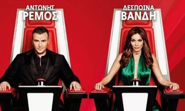 Χτύπησε ξανά κόκκινο η τηλεθέαση για το «The Voice»