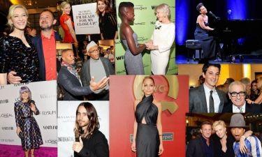 Άρχισαν τα pre Oscar πάρτι και οι διάσημοι λάμπουν! (φωτό)