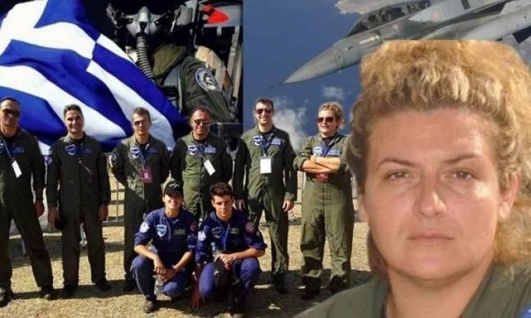 Η πρώτη Ελληνίδα πιλότος μαχητικού