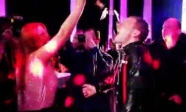 Eurovision 2014: Έλενα Παπαρίζου: Περιέλουσε συνεργάτη της με σαμπάνια μετά την πρόκρισή της στον Σουηδικό τελικό