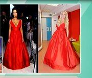 Όσκαρ 2014: Η Κιμ Καρντάσιαν με το φόρεμα της Δούκισσας Νομικού