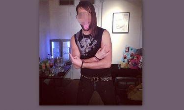 Ποιος τραγουδιστής ντύθηκε ροκάς;