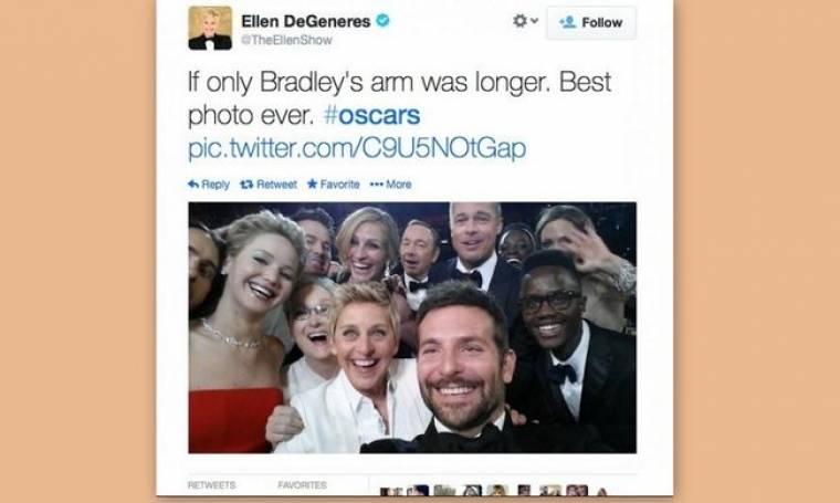 H τεράστια γκάφα της Ellen DeGeneres στα backstage!
