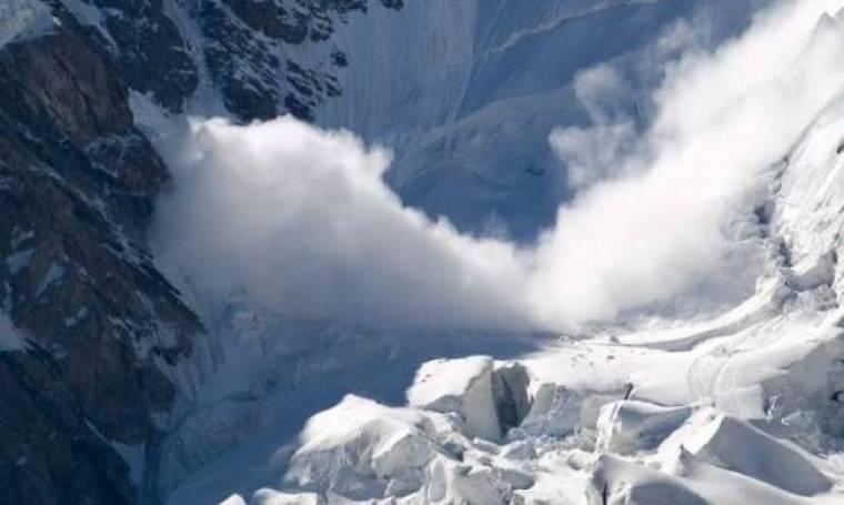 ΑΝΕΚΔΟΤΟ: Μια μεγάλη χιονοστιβάδα