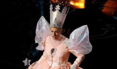 Όσκαρ 2014: Η Ellen de Generes ντύθηκε νεράιδα!